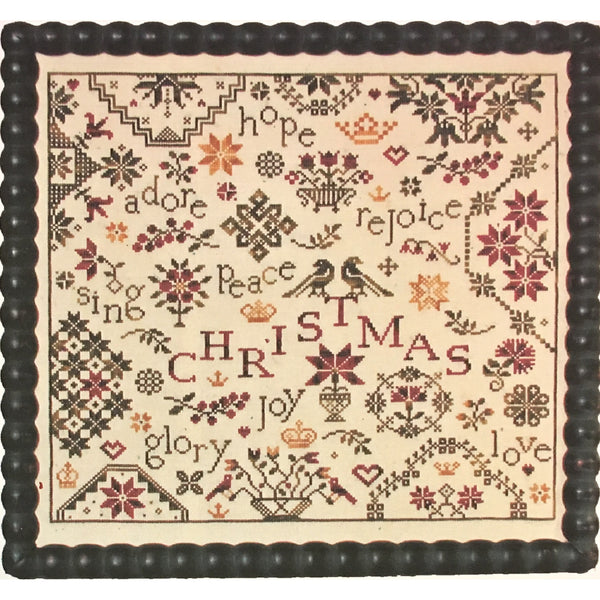 Simple Gifts Christmas Quaker Sampler Cross Stitch Pattern