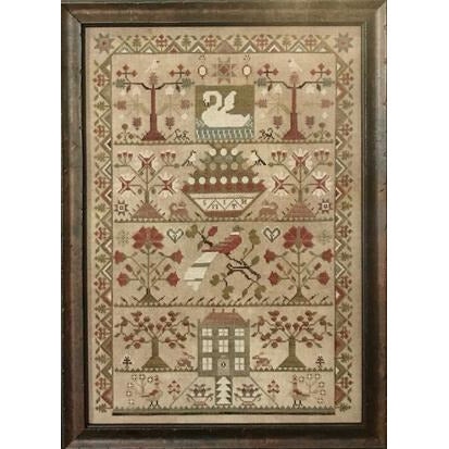 Smith Reproduction Sampler Cross Stitch Pattern or Kit