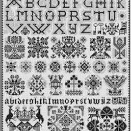 Sneek Sampler Cross Stitch Pattern