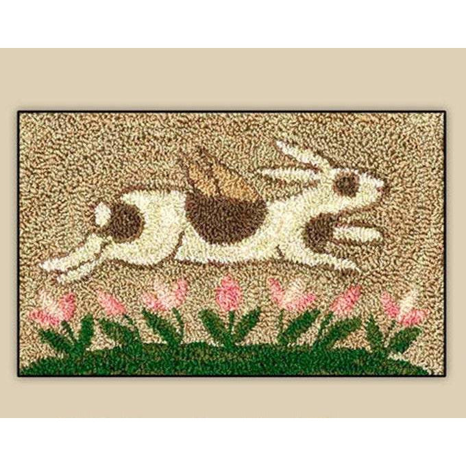Spotted Bunny Punch Needle Pattern