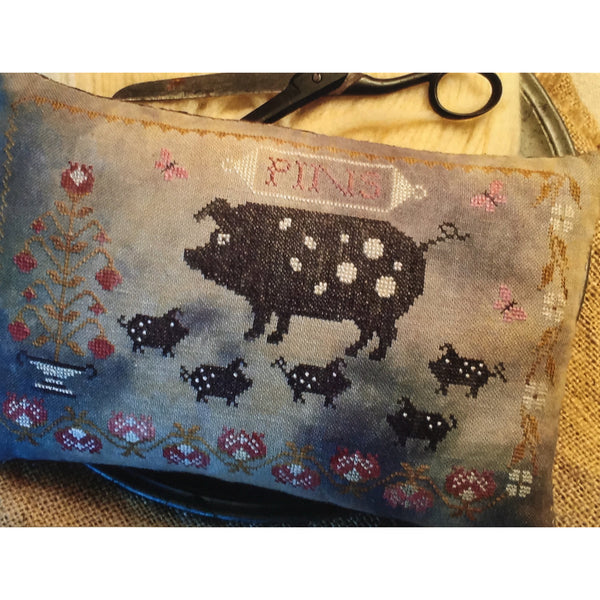 Spotted Pigs Pinkeep Pattern