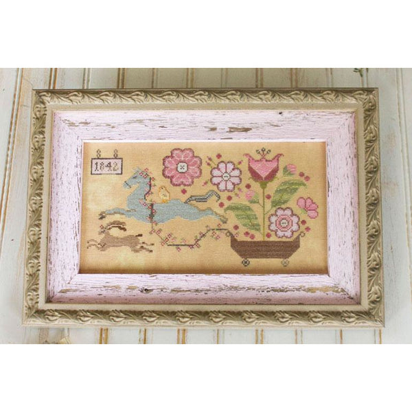 Spring Delivery Cross Stitch Pattern