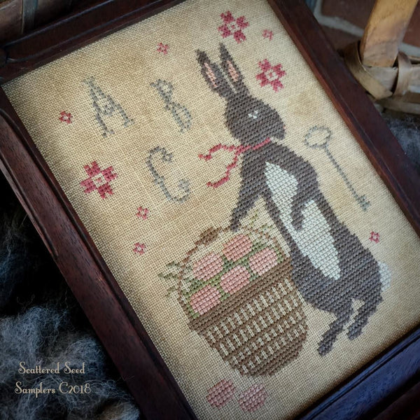 Spring Gathering Cross Stitch Pattern