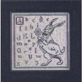 Spring Hare Cross Stitch Pattern