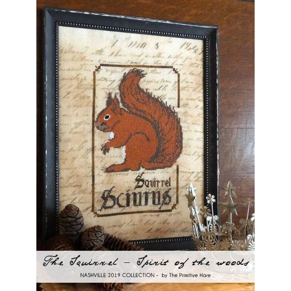 The Squirrel - Spirits of the Woods Pattern