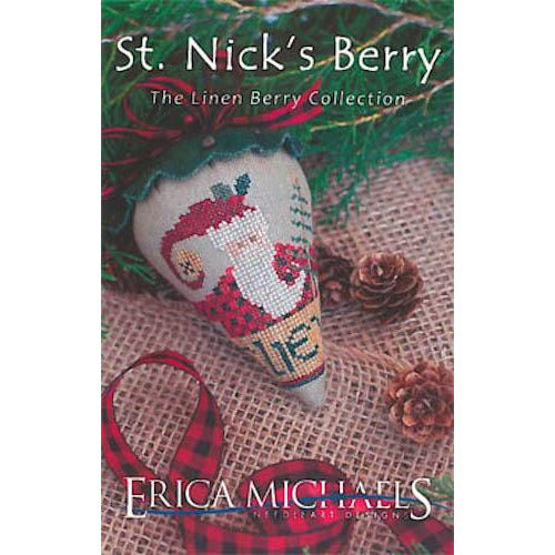 Linen Berry Collection - St. Nick's Berry Pattern