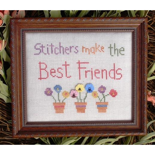 Stitchers Make the Best Friends Pattern