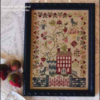 Magical Mystery Tour: Strawberry Fields Forever Cross Stitch Pattern