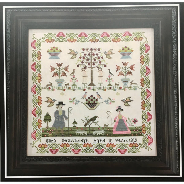 Eliza Strawbridge Reproduction Sampler Pattern