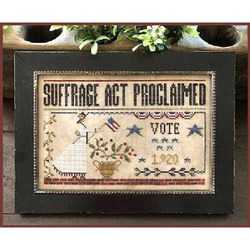 Suffrage Act Cross Stitch Pattern