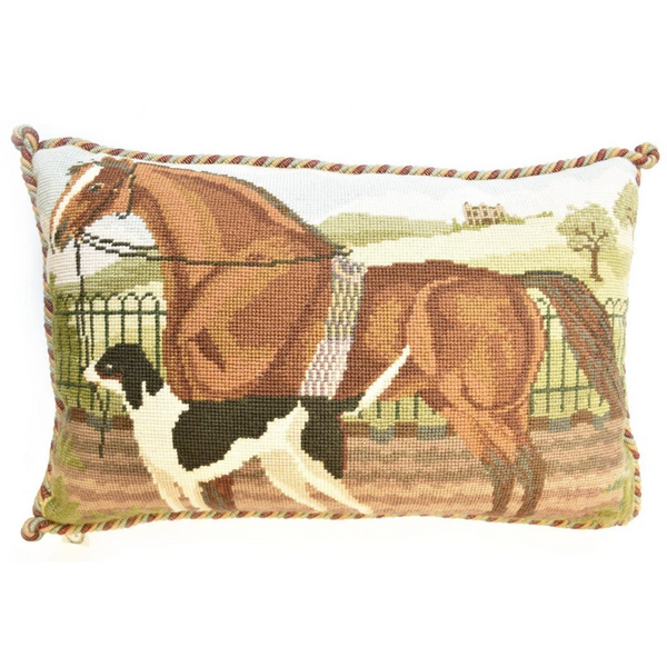 Suffolk Punch and Hound Needlepoint Tapestry Kit