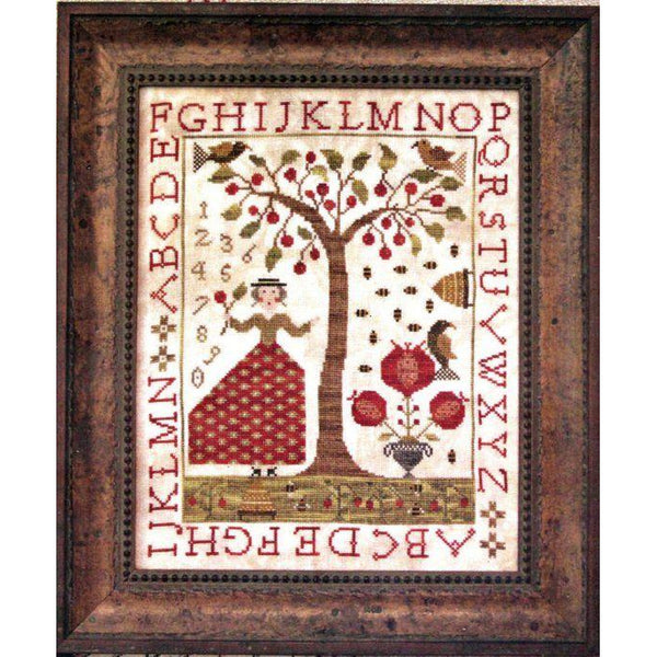 Summer at Cherry Hill Sampler Pattern