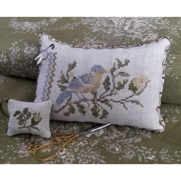 Sweet Finch Cross Stitch Pattern Kit