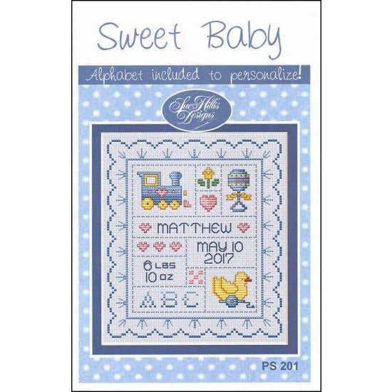 Sweet Baby Birth Announcement Pattern