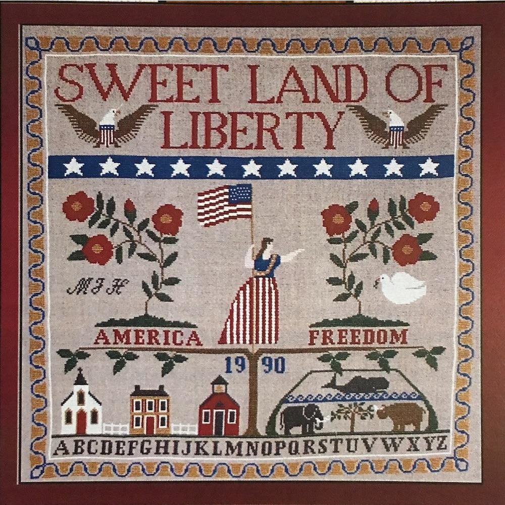 Charmed Samplers III: Sweet Land of Liberty Pattern