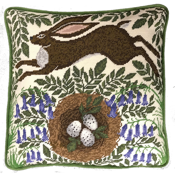 Spring Hare Tapestry Kit
