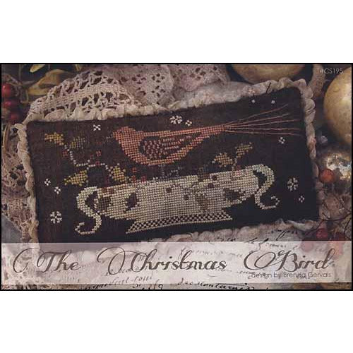The Christmas Bird Cross Stitch Pattern