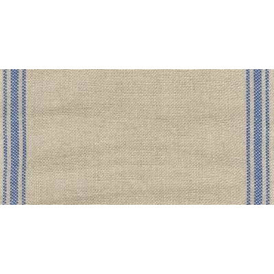 Banding - Ticking Stripe Natural/Blue