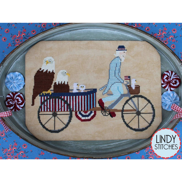 Uncle Sam's Rickshaw Pattern