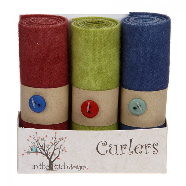 In The Patch Designs Wool Curlers ~ Vineyard