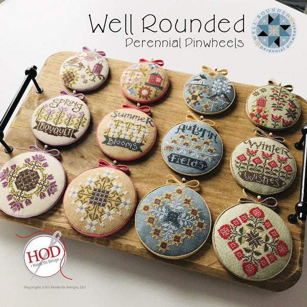 Well Rounded - perennial pinwheels Pattern