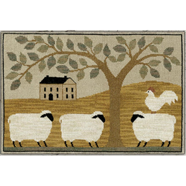 Wooly Estate Cross Stitch Pattern