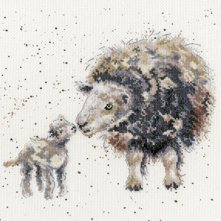 Ewe and Me Cross Stitch Kit
