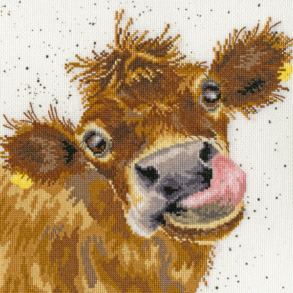 Moo Cross Stitch Kit