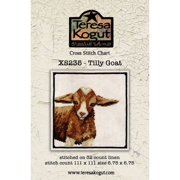 Tilly Goat Pattern ~ Shipping to Shops May 10