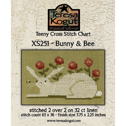 Bunny & Bee Pattern