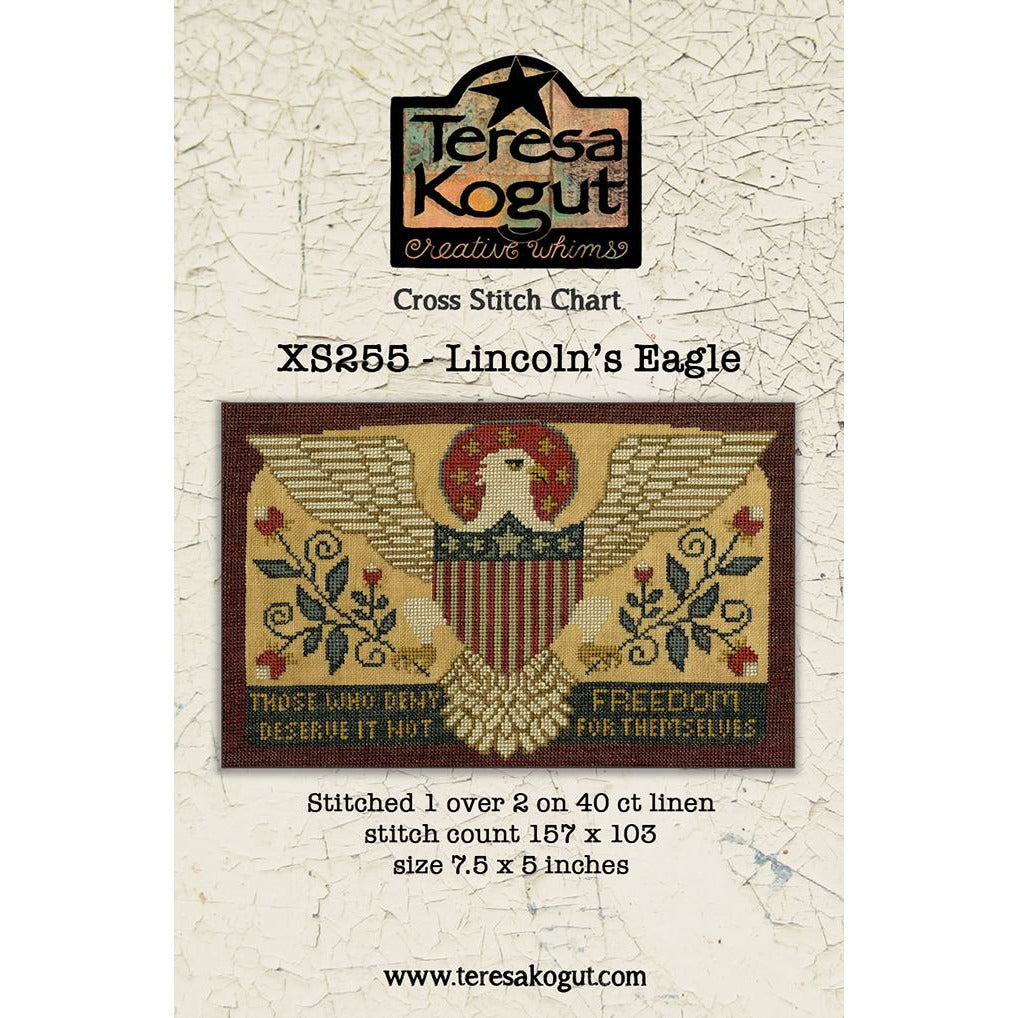 Lincoln's Eagle Sampler Pattern