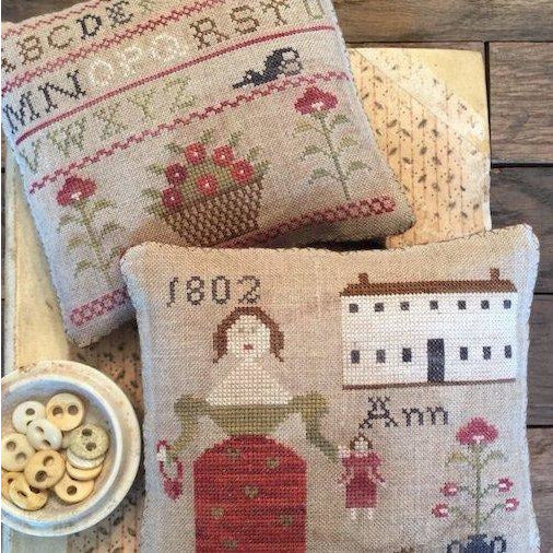 Ann's Sampler Pinkeeps Pattern