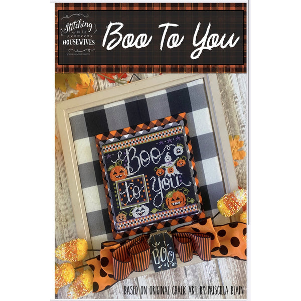 Boo To You Pattern