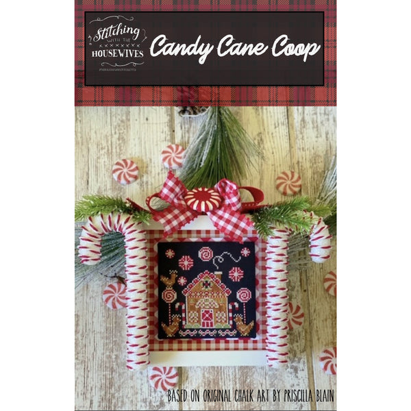 Candy Cane Coop Pattern - Available Mid-October