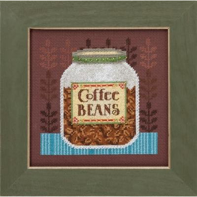 Coffee Beans Cross Stitch Kit