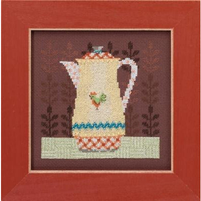 Coffee Server Cross Stitch Kit