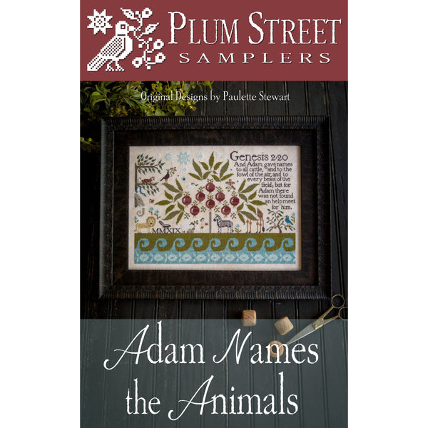 Adam Names the Animals Pattern