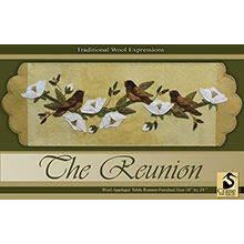 The Reunion Wool Applique Pattern