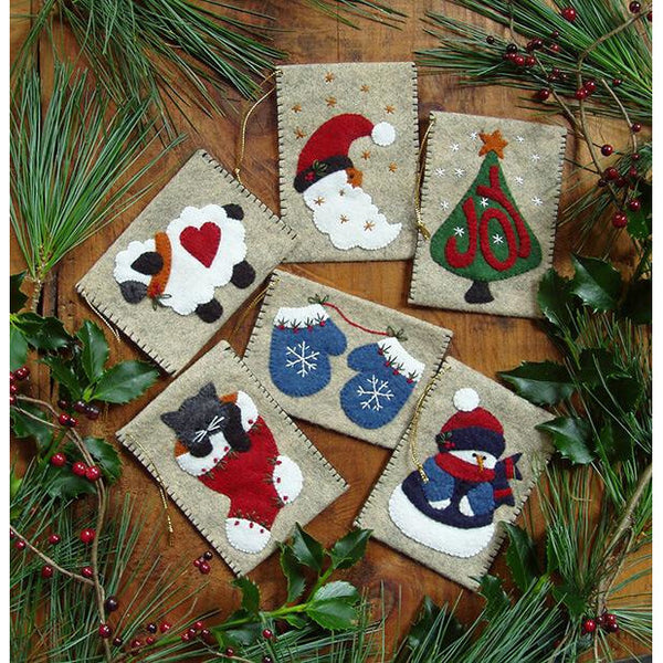 Gift Bag Ornaments Embroidery Kit
