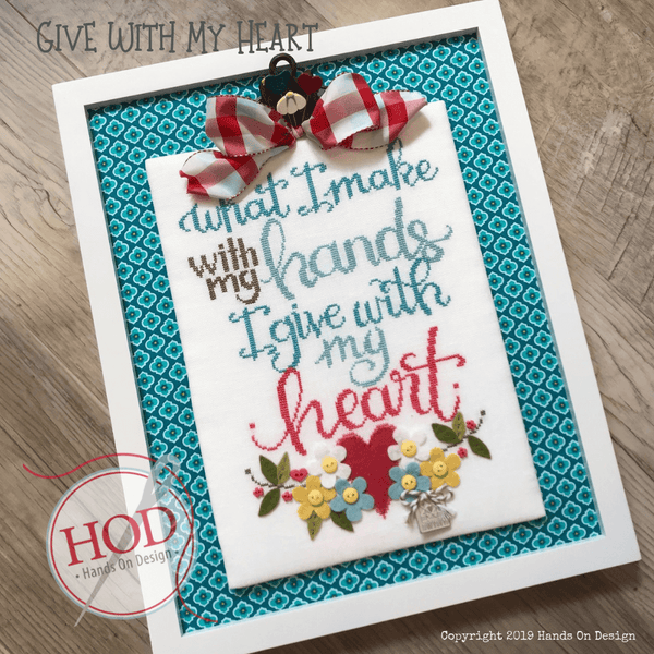 Give With My Heart Pattern