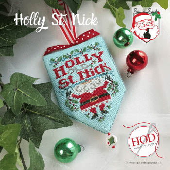Secret Santa - Holly St. Nick Pattern