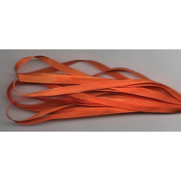 7mm Silk Ribbon ~ Jack O'Lantern