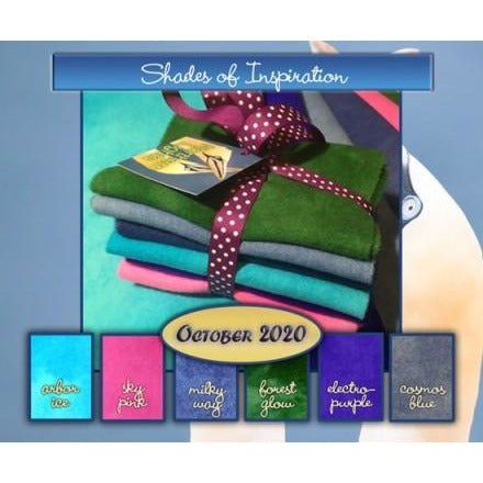 Shades of Inspiration - Northern Lights Wool Fabric Bundle