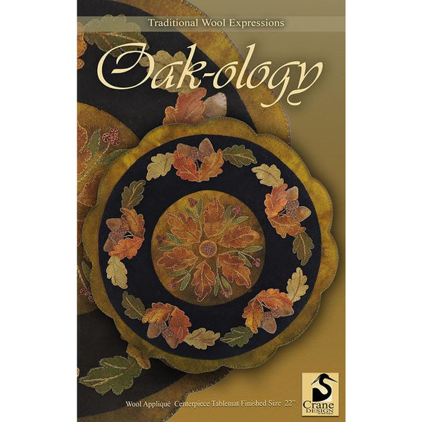 Oak-ology Wool Applique Pattern