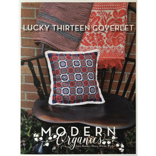 Lucky Thirteen Coverlet Pattern