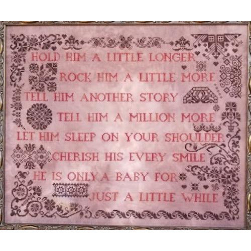 Only A Baby Quaker  Cross Stitch Pattern