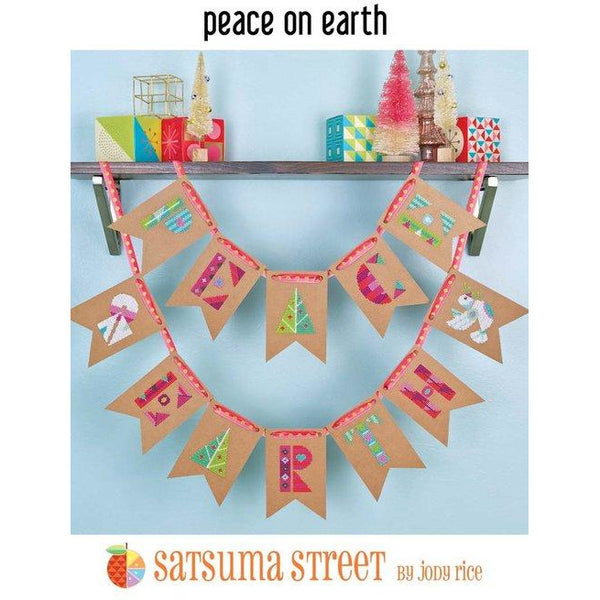 Peace on Earth Cross Stitch Kit