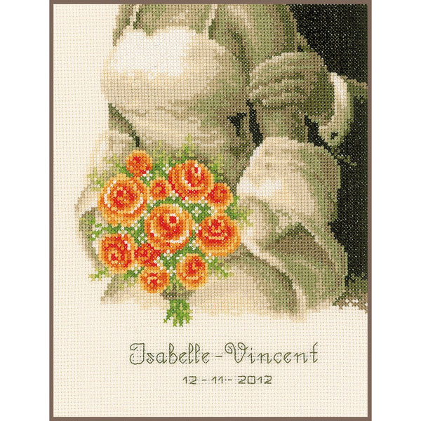Wedding Bouquet Cross Stitch Kit