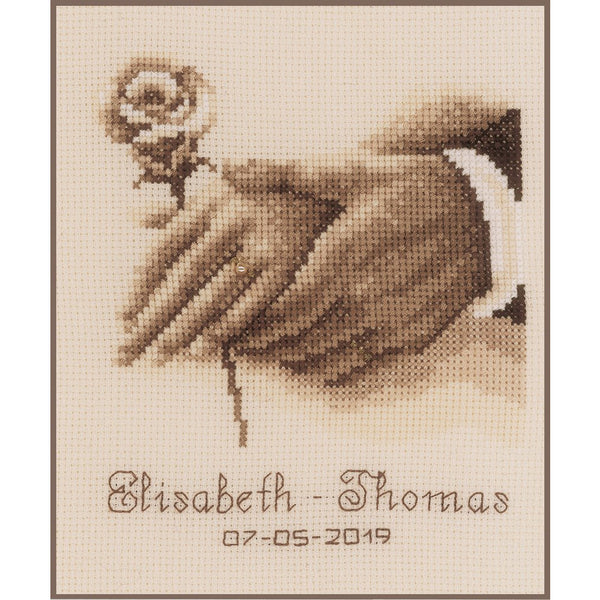 Wedding Rings Cross Stitch Kit
