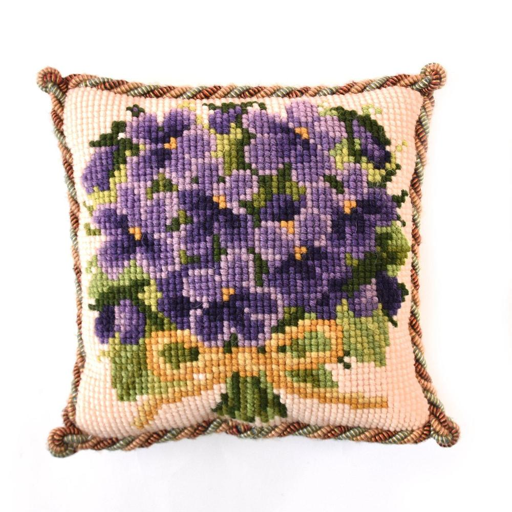Posey of Violets Mini Needlepoint Tapestry Kit